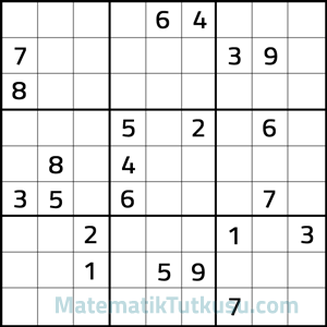 9x9 sudoku sorusu
